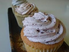 Ube Coconut Cupcake