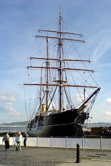 Discovery on the Dundee waterside