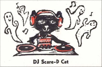 dj scare-d cat