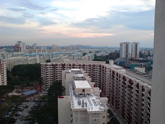 No haze Evening