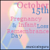 infant loss day icon