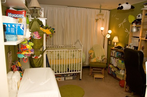 the finished nursery