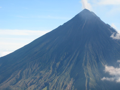 Mayon Volcano - Closer look