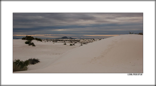 White Sands morning A