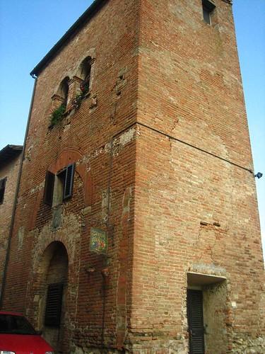 12th Century Tower, Certaldo Alto