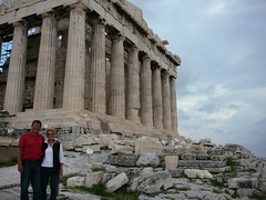 Peter and Judy at the Parthenon