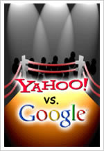 Microsofr and Yahoo against Google