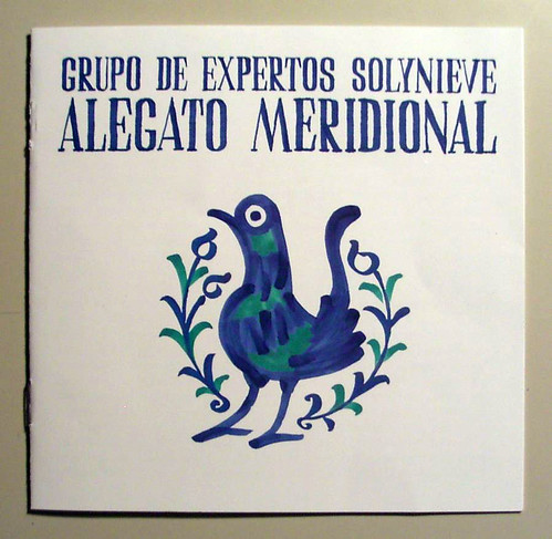 Grupo de expertos Solynieve · Alegato meridional