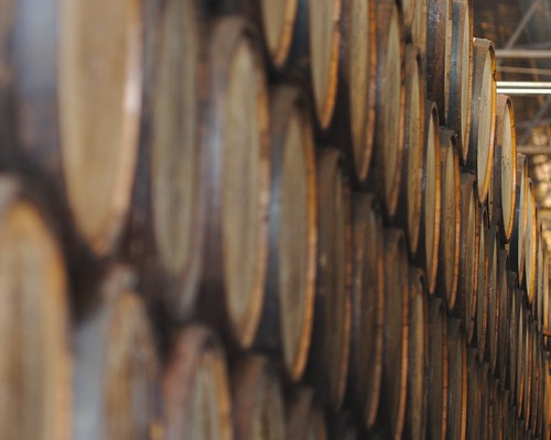 Barrels of Tequila Resting