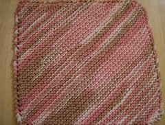 Neopolitan washcloth