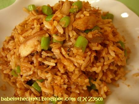 sardine fried rice