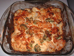 low-carb vegetable casserole - Atkins & South Beach friendly
