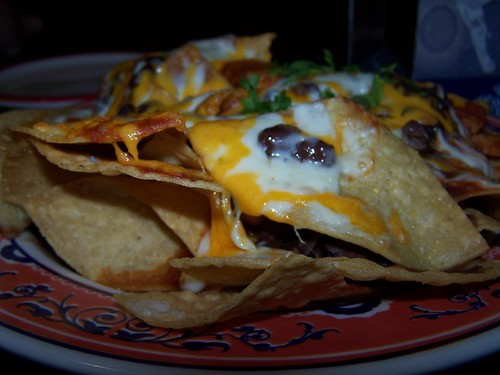 Starliner Diner Black Bean Nachos