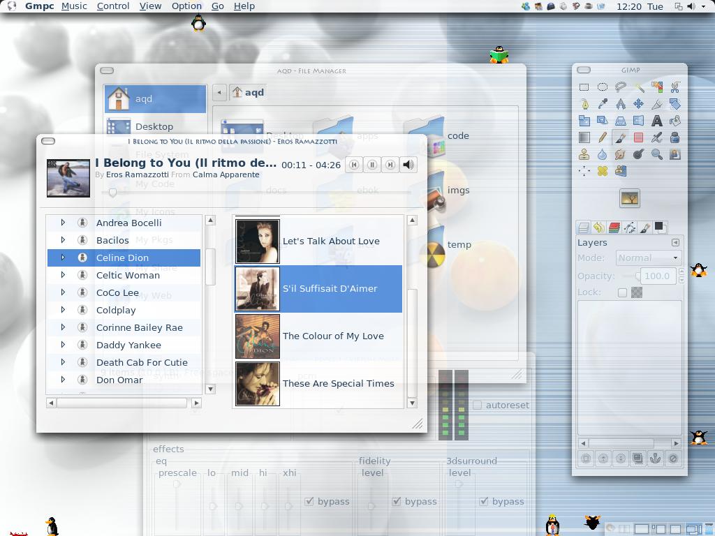 Mac-style Menu Bar for GTK and Java/Swing applications
