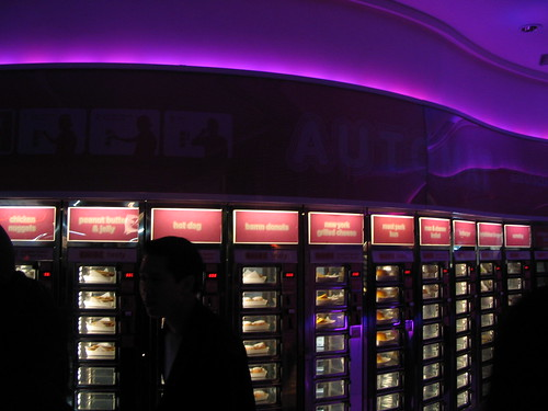 There's an automat on St. Marks!