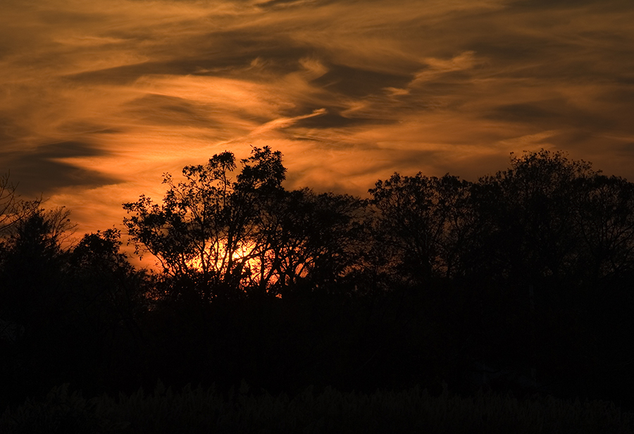 sunset November 1 2006