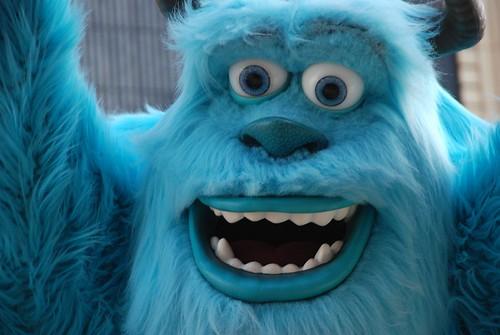 monsters university sulley roar