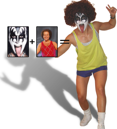 Richard Simmons Gene Simmons