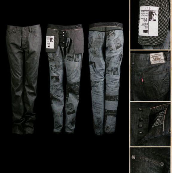 Highsnobiety.com - Online Streetwear Magazine » Blog Archive » Warhol Factory x Levi's Spring 07 Preview!!!