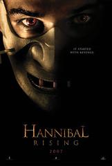 Teaser póster de 'Hannibal Rising': el origen de Hannibal Lecter