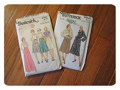 vintage patterns (again)