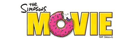 simpson movie logo