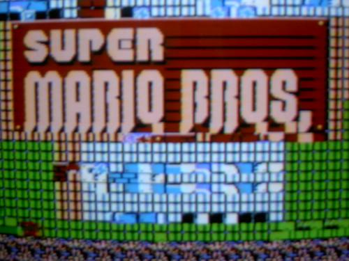 SuperMarioTooMuchMushroom  : Ecran principal