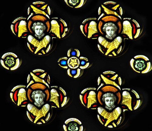 Quatrefoil Angels