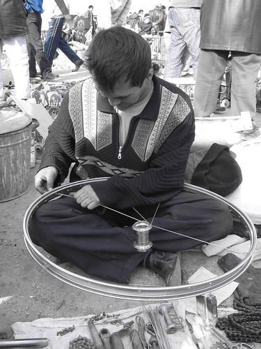 At the Danlager Bazaar, Samarkand, Uzbekistan