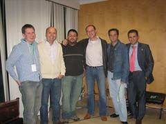 Matt Mullenweg con el Equipo de Blogestudio en Evento Blog España 2006