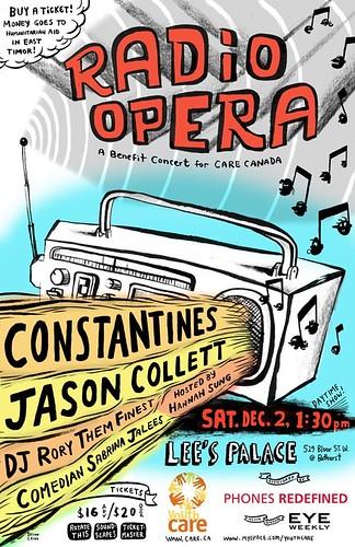 RADIO OPERA Poster