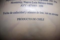 Producto de Chile