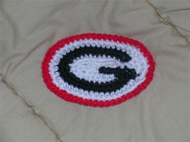 University Of Georgia Quot G Quot Crochet
