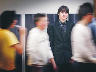 Kille i slips