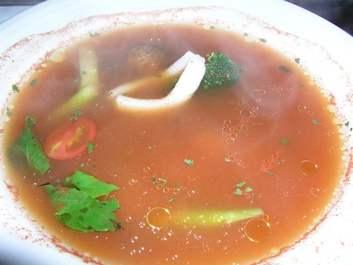 20061125_「靴子」義大利餐館_蕃茄海鮮湯