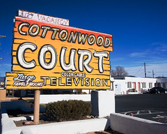 One of our Route 66 motels.