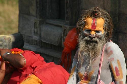 Sadhu (holy man) near Pashupatinath, Kathmandu