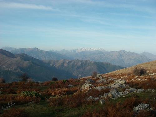 La montagne corse en automne