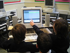 Music Technology workshop using GarageBand