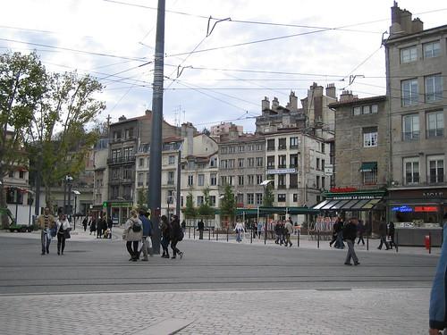 St Etienne, place du peuple