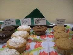 Gute Muffin-Auswahl