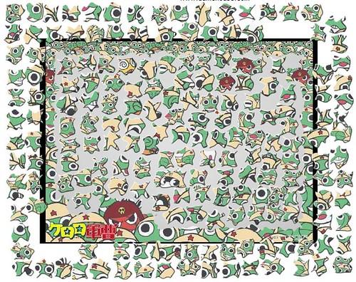 Keroro's jigsaw