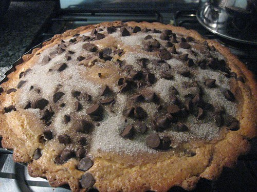 chocolate chip and yogurt cake