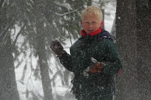 Julian in Snow
