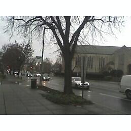 Rainy Washington DC