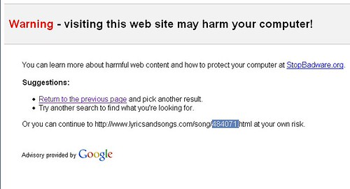 I guess I appreciate this, but when did google start policing the web?