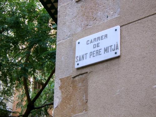C. de Sant Pere Mitja