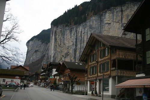 Lauterbrunnen and the Falls