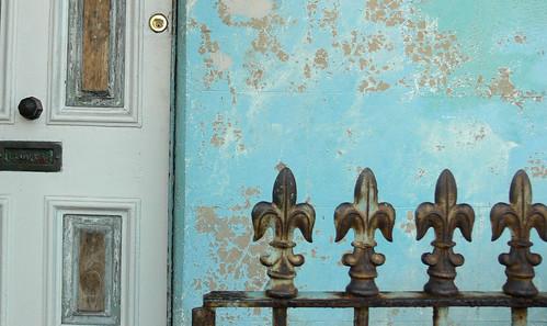 Fence & door, Newtown