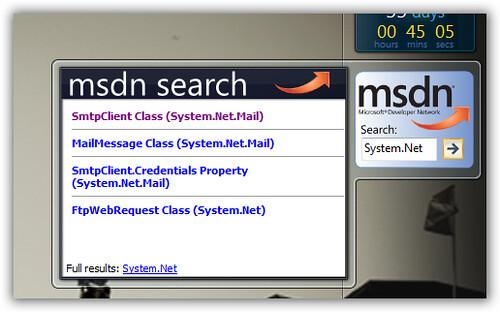 sidebar-msdn-search